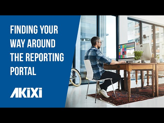 Finding Your Way Around The Akixi Reporting Portal