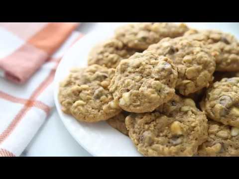 How To Make Pumpkin Oatmeal DOUBLE Chocolate Chip Cookies