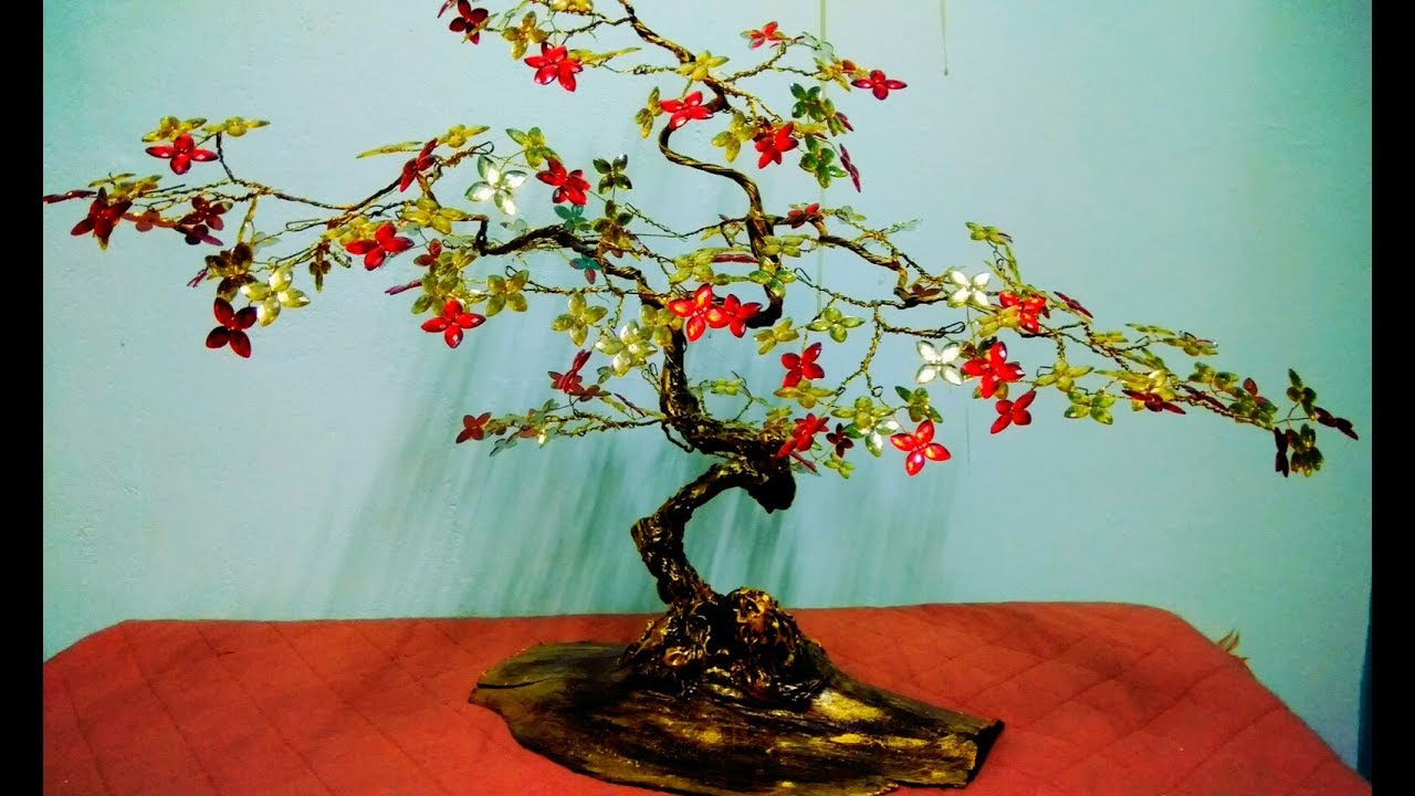 How to make tree with wire | tree sculpture | wire tree tutorial ...