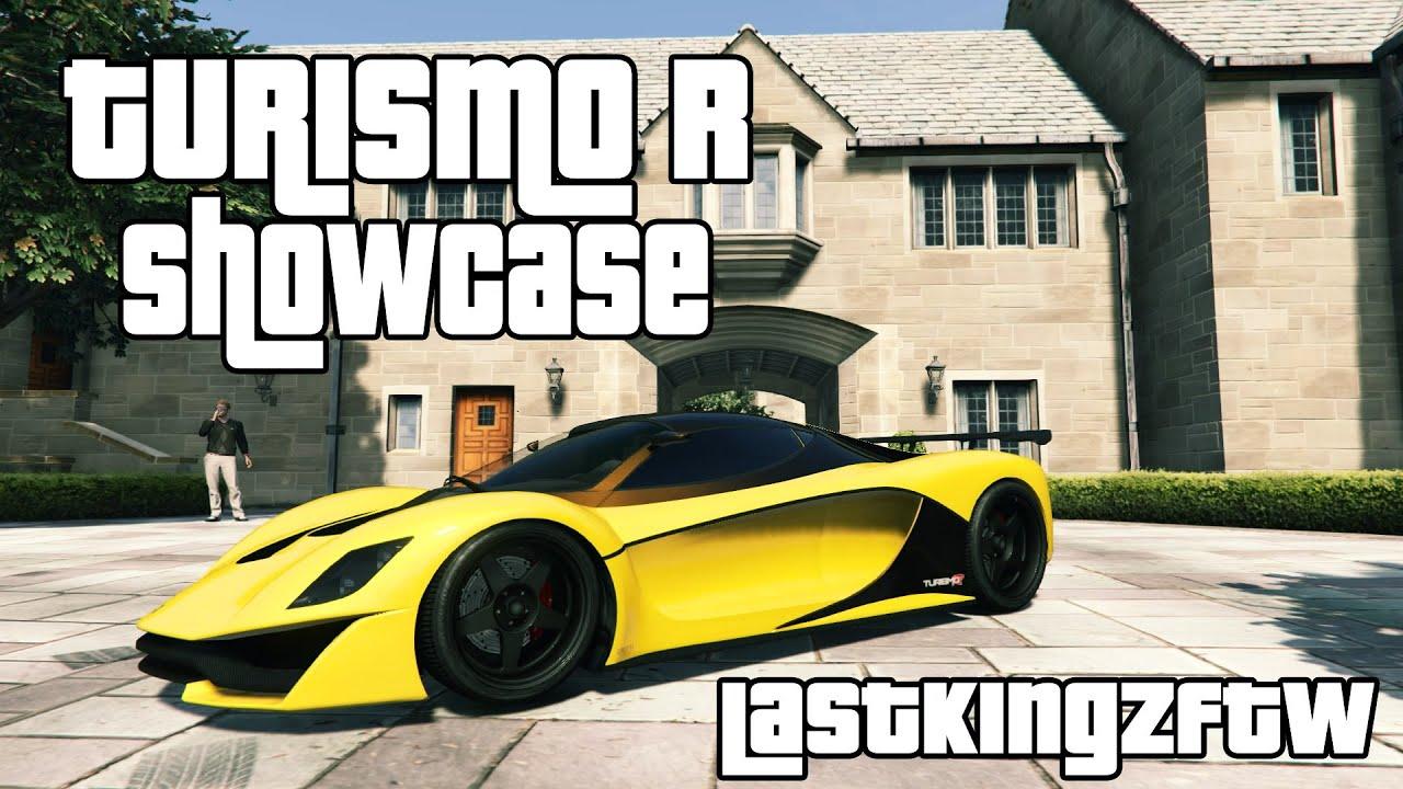 GTA 5 CAR SHOWCASE ( TURISMO R ) - YouTube