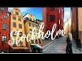 STOCKHOLM TRAVEL VLOG & GUIDE | What to do in 2 Days