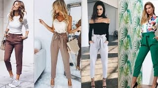 Tendencias Pantalones para Mujer y Juvenil 2018/2019.