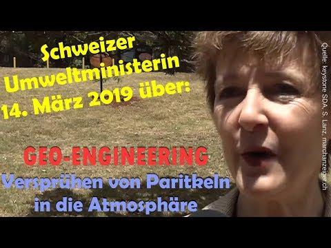 Neue Schweizer Umweltministerin gegen ☔⛅GEO-ENGINEERING: