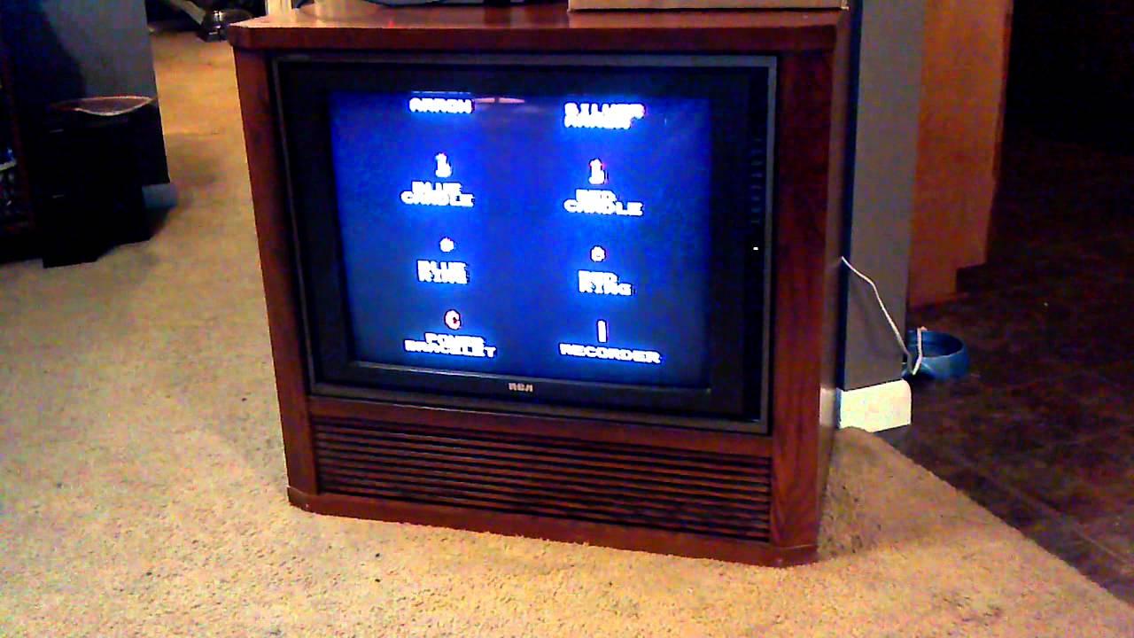 Rca Dimensia Console Tv Youtube