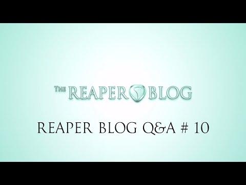 REAPER Blog Q & A # 10   OMF