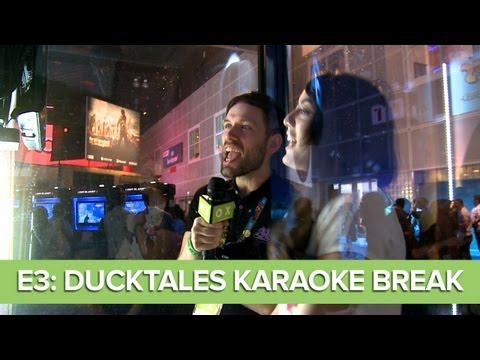 E3 2013: The Karaoke Break - Jane and Andy Sing DuckTales Karaoke