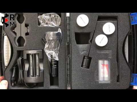 Räumungspreis genießen Qualitätsprodukte erstaunlicher Preis Review Odepro KL52 zoombare Taschenlampe rot grün weiß ir850 LED Lampe