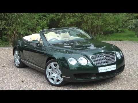 Bentley Continental Gtc Youtube