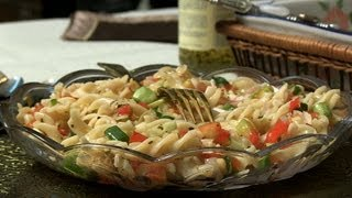 Indian Celebrity Special - Crispy Pasta Salad With Mini Ribeiro