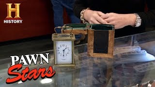 Pawn Stars: French Brass Carriage Clock | History