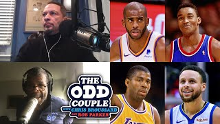 Chris Broussard & Rob Parker Confront Bonzi Wells for Chris Paul Mount Rushmore Take