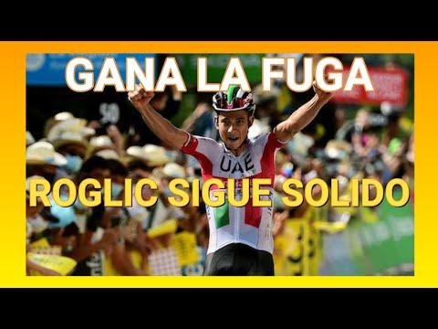 Etapa 3 Criterium Du Dauphine 2020 - Primoz Roglic sigue Lider - Ciclismo de Ruta.