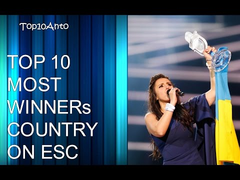 TOP 10 MOST WINNERs COUNTRY ON EUROVISION SONG CONTEST, 2018