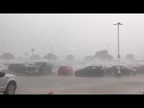 Heavy Rain, Wind Slams San Antonio, Texas