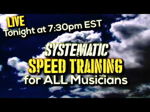 Meetup: Systematic Speed Training | TONIGHT at 7:30pm EST!