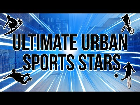 STREETBALL STAR CONMAN MEETS THE ULTIMATE URBAN SPORT STARS FOR SOME EPIC BATTLES