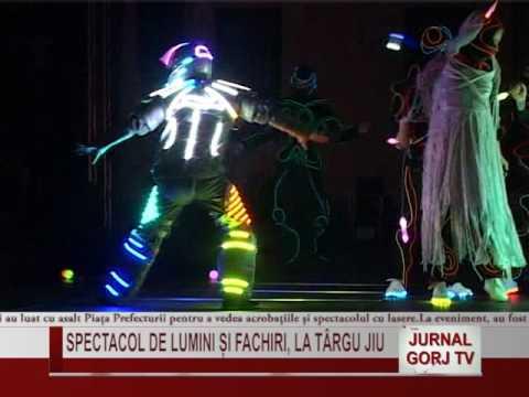Download SPECTACOL DE LUMINI SI FACHIRI LA TG JIU