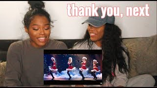 "Twins REACT to Ariana Grande - ""thank you, next"" Music Video 💓"
