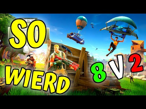 Weirdest Game In Fortnite - 8v2 !!! (Fortnite Season 10 Game Play PC No Commentary)