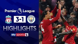 Liverpool stun Man City to move 8 points clear | Liverpool 3-1 Man City | Premier League Highlights