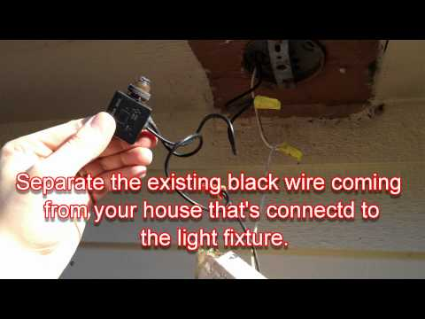 how to install a photocell switch dusk to dawn switch 3 42