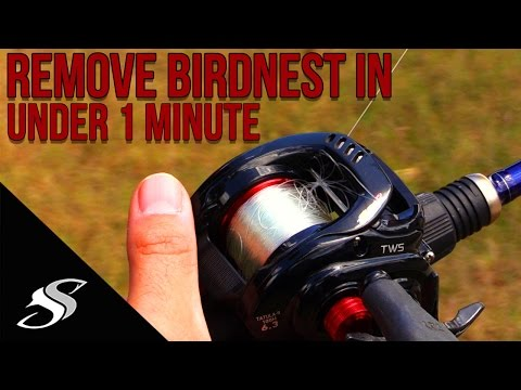 Baitcaster How To: Remove A Backlash/Birdnest In Under 1 Minute!