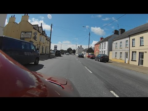 ROAD TRIP - Ireland - Killeagh, Main Street to Cork Airport