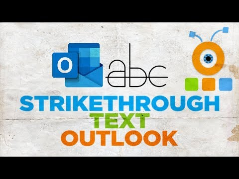 How To Strikethrough Text In Microsoft Outlook For Mac | Microsoft Office For MacOS