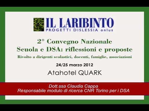 Claudia Cappa - 2° CON. NAZ. Scuole e DSA