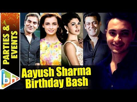 Salman Khan, Jacqueline Fernandez & Others At Aayush Sharma's Birthday Bash
