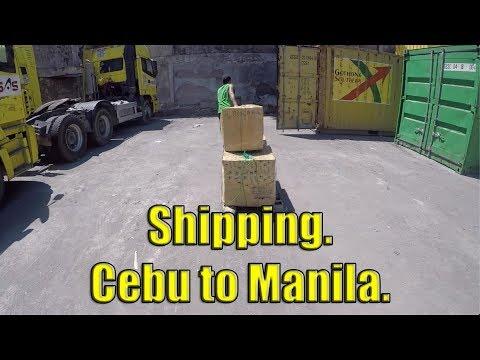 Shipping Cargo, Cebu To Manila.