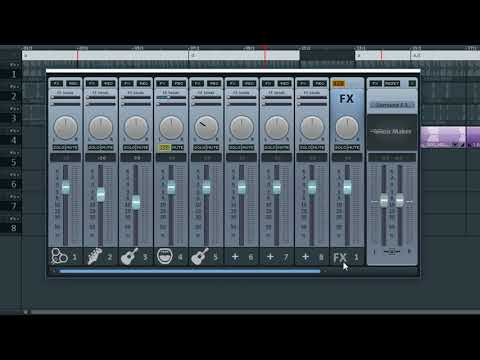 MAGIX Music Maker Free - The Mixing Console