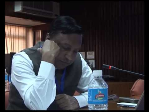 Mr. Dilip Boralkar - International CRZ Workshop (IIT Delhi) 2014