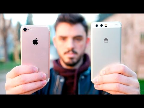HUAWEI P10 vs iPHONE 7, ¡comparativa en español!