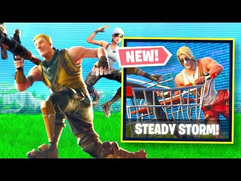 NEW STEADY STORM FORTNITE GAME MODE