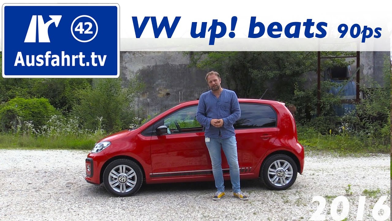 2016 Volkswagen Vw Up Beats 90ps Fahrbericht Der Probefahrt