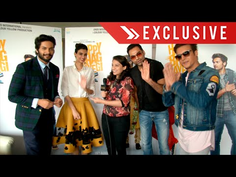 Interview : Happy Bhag Jayegi Cast | Diana Penty, Abhay Deol, Ali Fazal, Jimmy Shergill