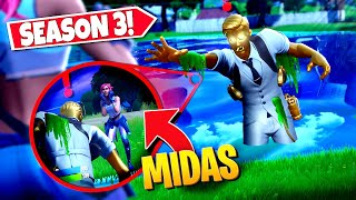 *NEW* Pretending To Be BOSS MIDAS Returning FROM THE DEAD In Fortnite! (Battle Royale)