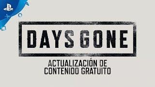 Days Gone - Actualización de contenido gratuito en Español Latino | PS4