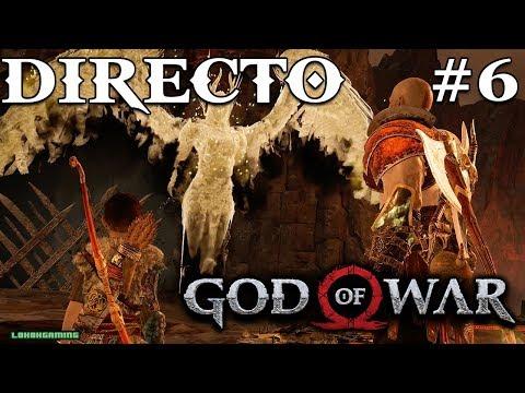 God of War - Directo 6# Español - Desafio - Derrotando Valkyrias - El Reino de Niflheim - Ps4 Pro
