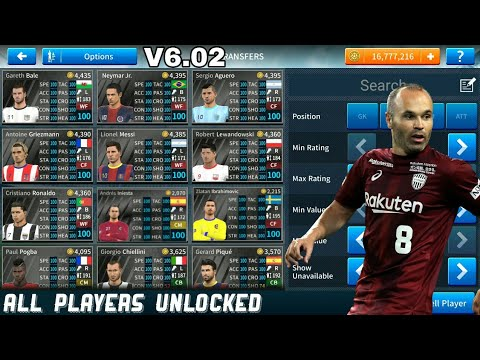 Download Dream League Soccer 2019 v6 02 Mod Apk - All Players Unlocked &  Unlimited Money