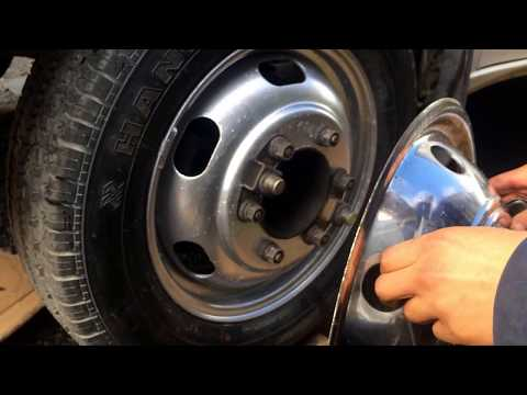Motorhome Wheel Cap/ Simulator Removal