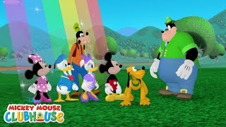 Mickey Finds A Rainbow | Mickey Mouse Clubhouse | Disney Junior