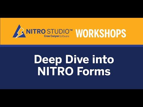 NITRO Studio Workshop