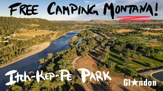 FREE BOONDOCKING CAMPING IΝ MONTANA ON THE YELLOWSTONE RIVER! #RVLIFE #TRAVEL
