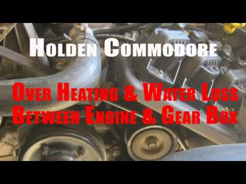 Holden Commodore Over Heating Water Loss Issue