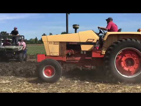 Muscle Tractors Plowing At The Half Century Of Progress Show