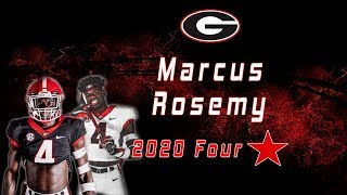 Marcus Rosemy | 4 Star WR Class of 2020 | UGA Commit