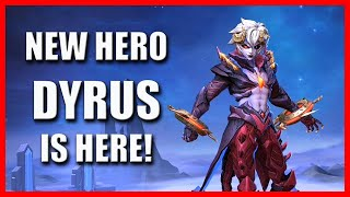 NEW HERO DYRUS IS HERE - MOBILE LEGENDS