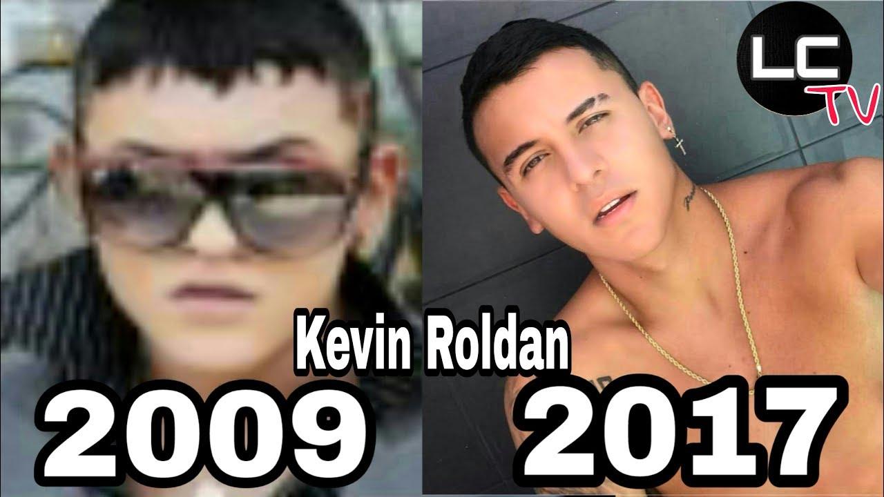 Kevin Roldan Evolucin 2009 2017 Antes Y Despus